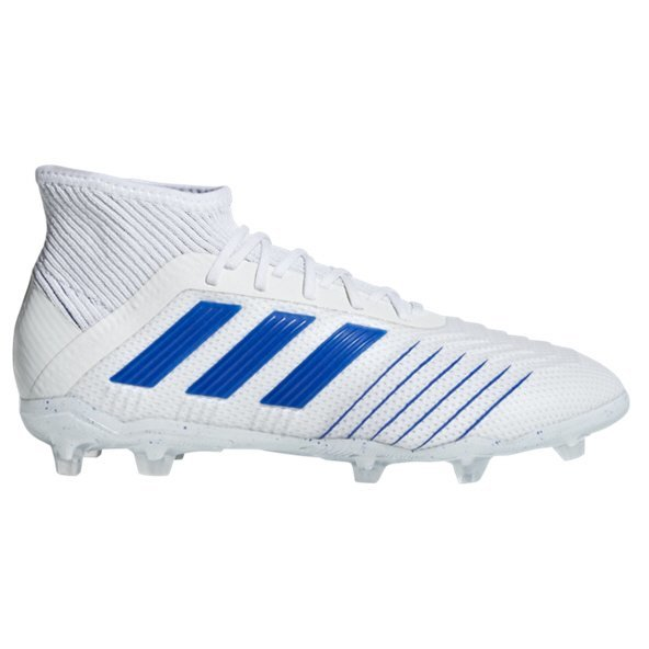adidas Predator 19.1 FG Kids' Football Boot, White