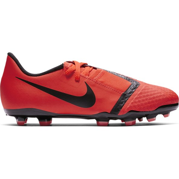 Nike Phantom Venom Academy Kids' FG Football Boot, Red