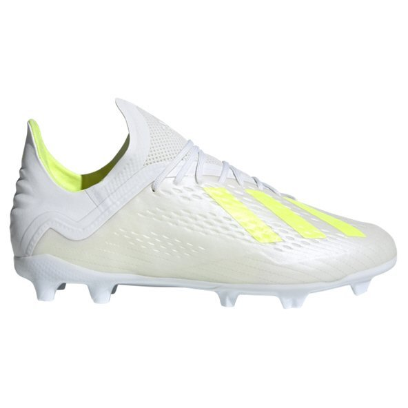 adidas X 18.1 FG Kids' Football Boot, White