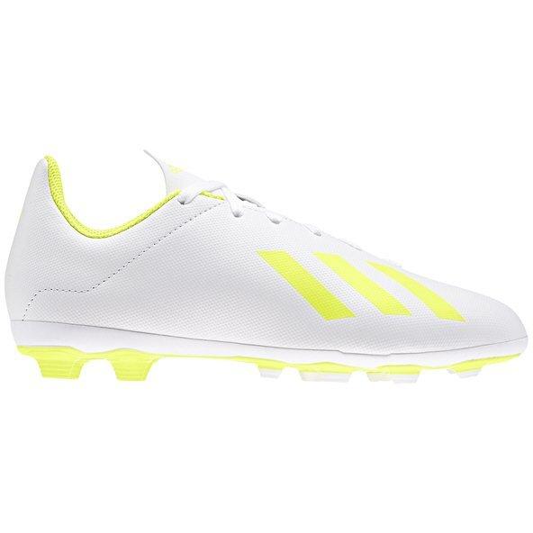 d996fa76792 adidas X 18.4 Kids FxG White Yellow