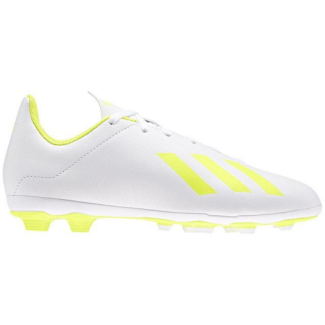 adidas X 18.4 Kids FxG White/Yellow