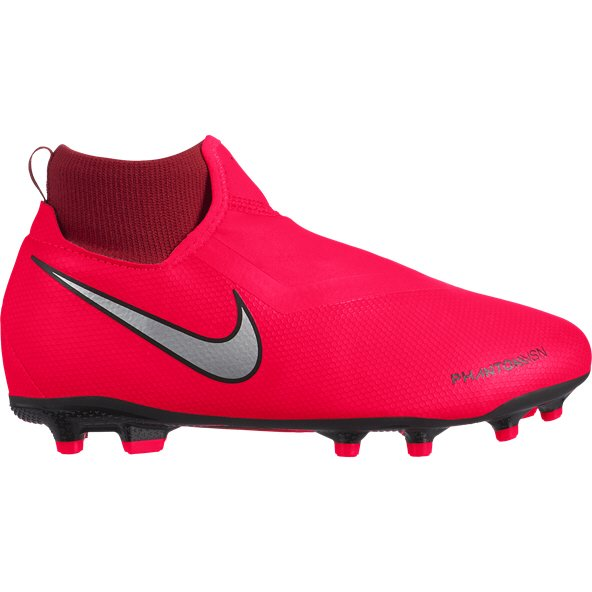 Nike Phantom VSN Academy DF FG Kids' Football Boot, Red