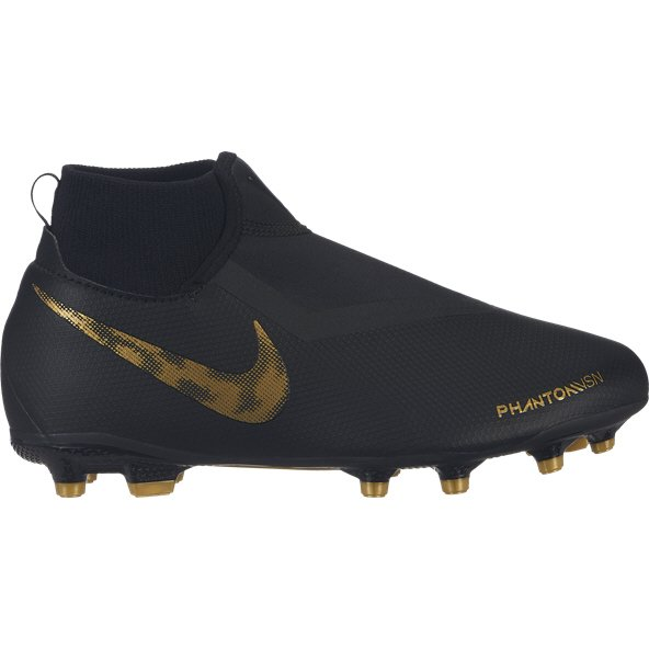 Nike Phantom VSN Academy DF FG Kids' Football Boot, Black