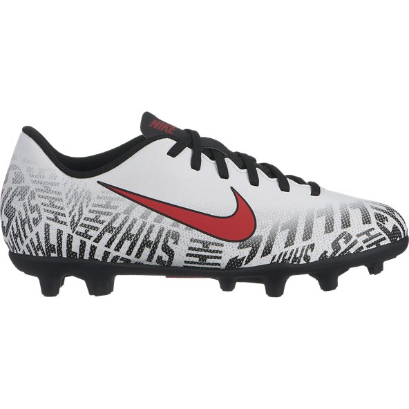 Nike Neymar Vapor 12 Club Kids' FG Football Boot, White