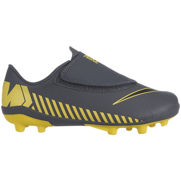 Nike Mercurial Vapor Club Junior Kids' Football Boot, Grey