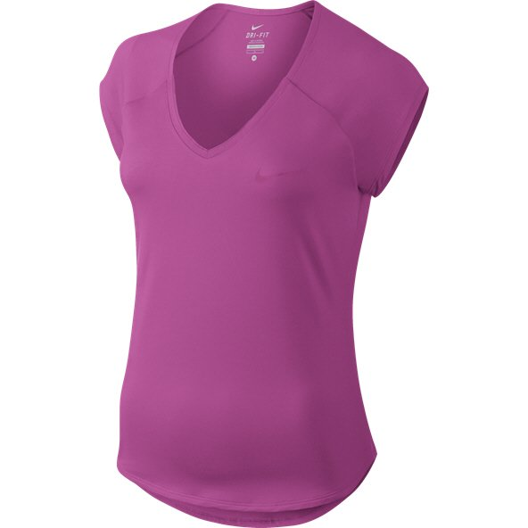 Nike Court Pure Tennis Women's T-Shirt, Purple