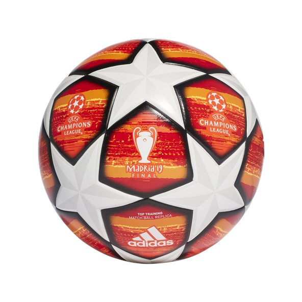 adidas Finale UCL 2018/19 Top Training Ball, White