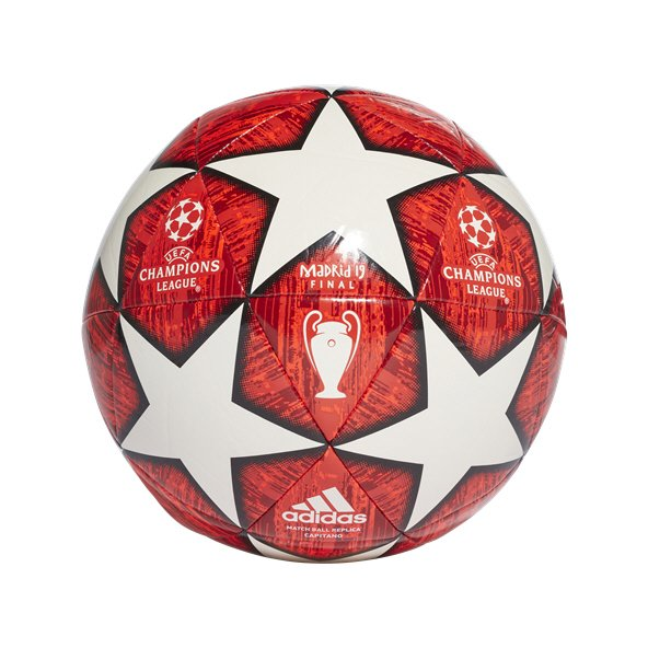 adidas Finale UCL 2018/19 Capitano Ball, White