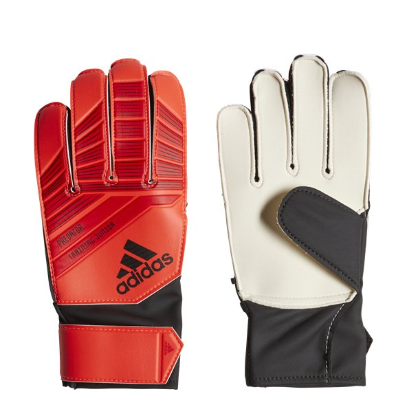 adidas Predator Kids' Goalkeeper Glove, Red