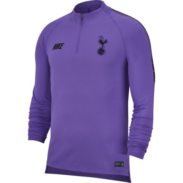 Nike Spurs 2018/19 Squad Drill Top, Purple