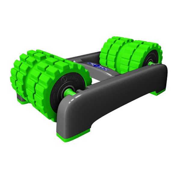 BackBaller Rigid Foam Roller, Green