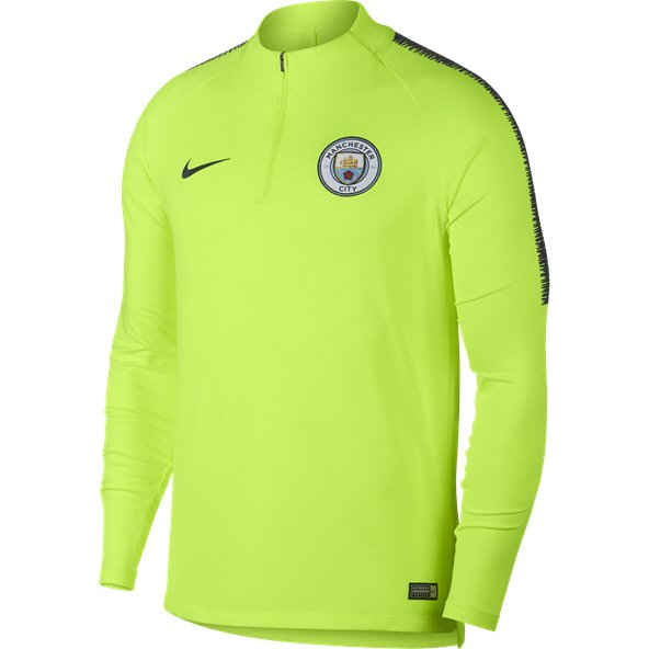Nike Man City 2019 Squad Drill Top, Yellow