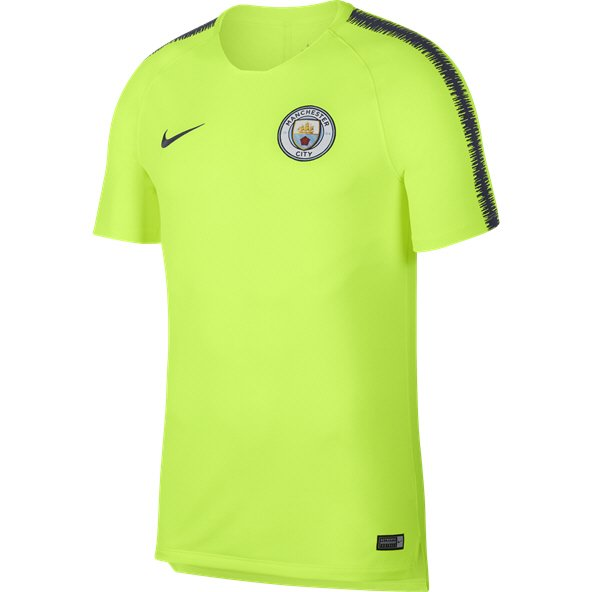Nike Man City 2019 Squad T-Shirt, Yellow