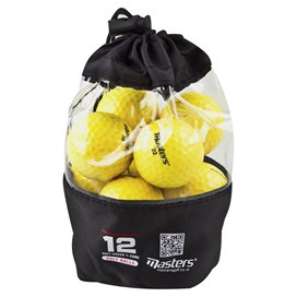 Master Titanium Golf Balls 12 Yellow
