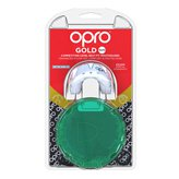 Opro Shield Gold Senior Mouthguard, White/Mint