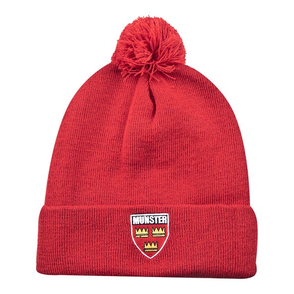 Tradcraft Munster Bobble Beanie Red