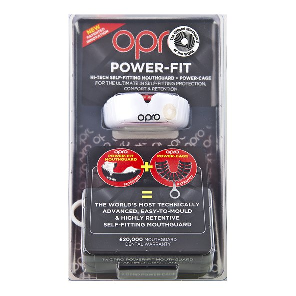 Opro WGPA Power Fit Senior White