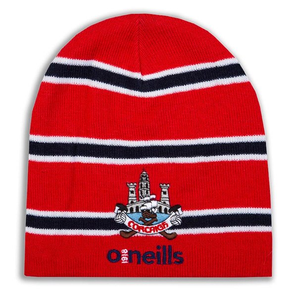 O'Neills Cork Solar Beanie Hat Red