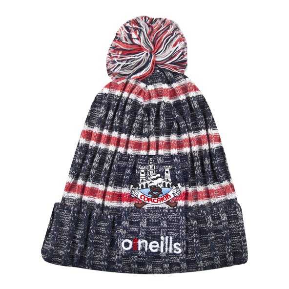 O'Neills Cork Solar Bobble Hat Navy