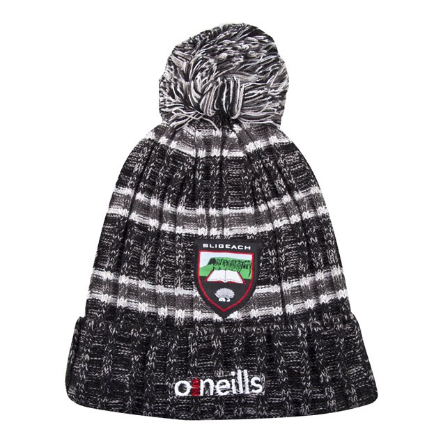 O'Neills Sligo Solar Bobble Hat Black