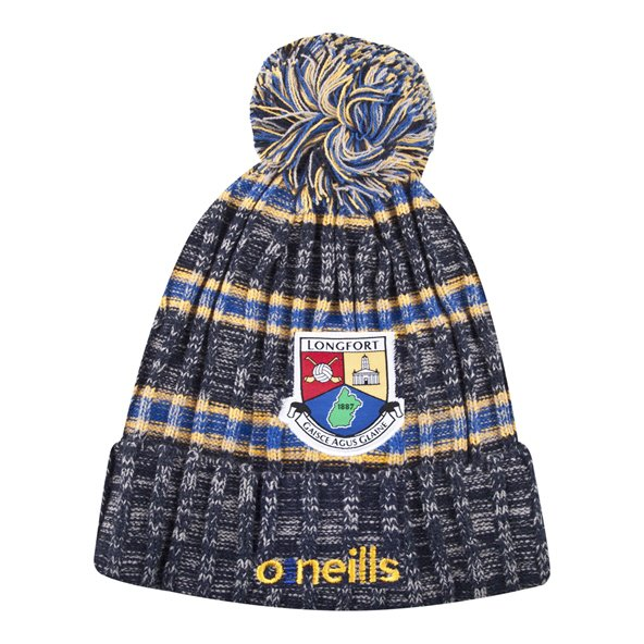 O'Neills Longford Solar Bobble Hat Navy