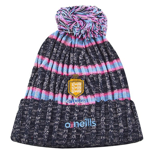 O'Neills Clare Bobble Hat Pink