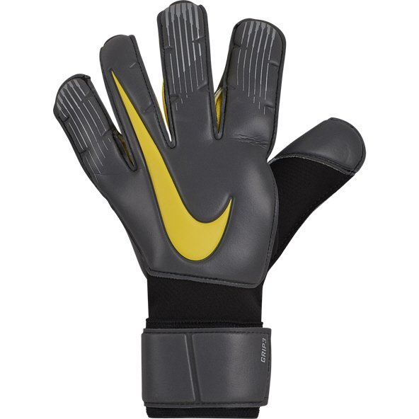 Nike Grip 3 Goalkeeper Glove, Black