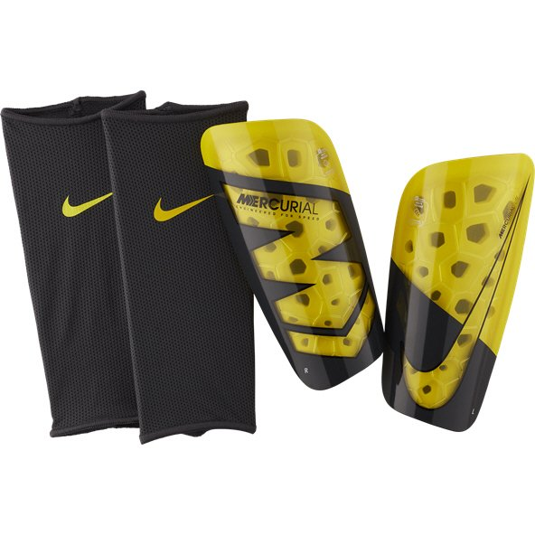 size 40 8fac0 0c34c Nike Mercurial Lite Shinguard, Yellow