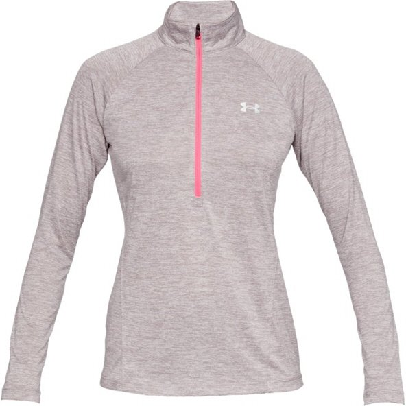 Under Armour® Tech™ Twist ¼ Zip Women's Top, Grey