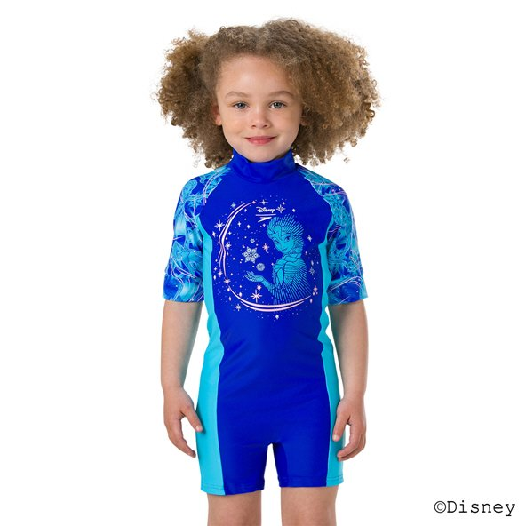 Speedo Frozen All In One Suit Blue/Turquoise
