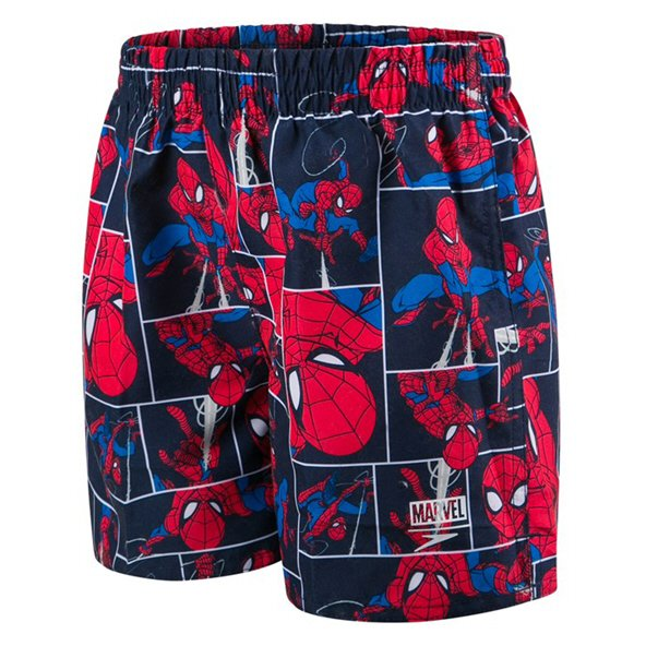 "Speedo Spiderman Inf Watershort 11"" Navy"