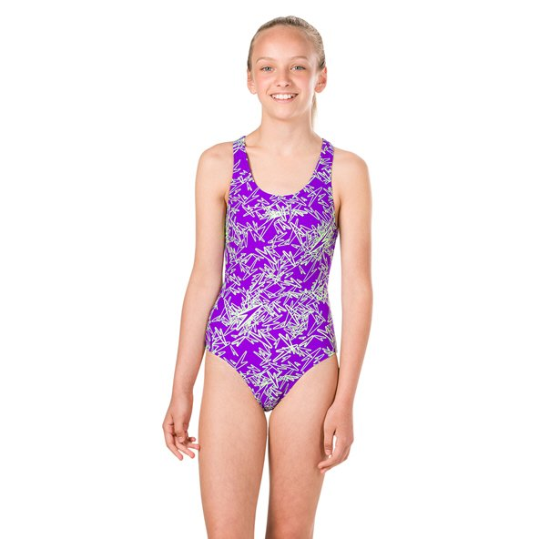 Speedo Boom Allover Splashback Purple