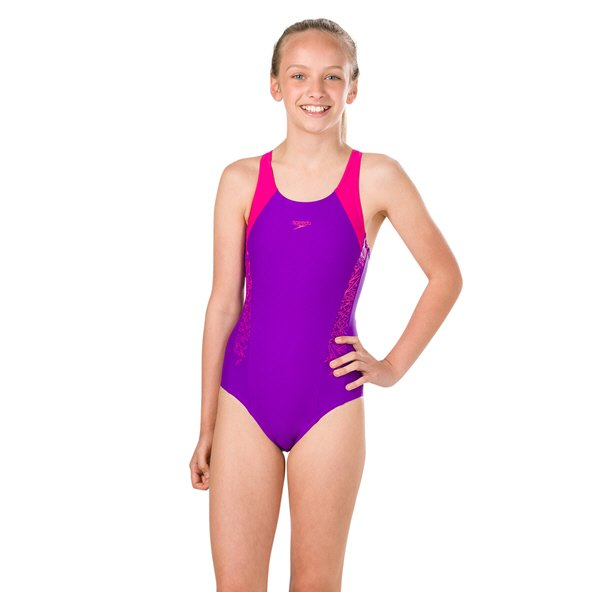 Speedo Boom Splice Muscleback Purple/Pink