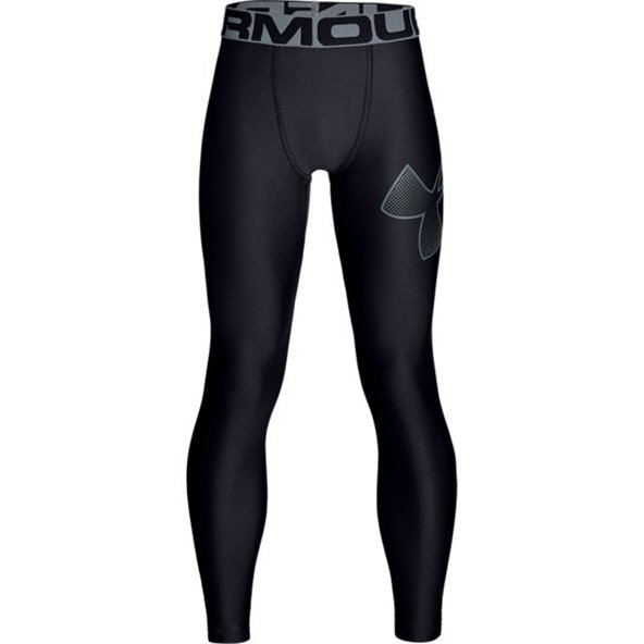 Under Armour Boys' HeatGear® Armour Legging Black/Grey