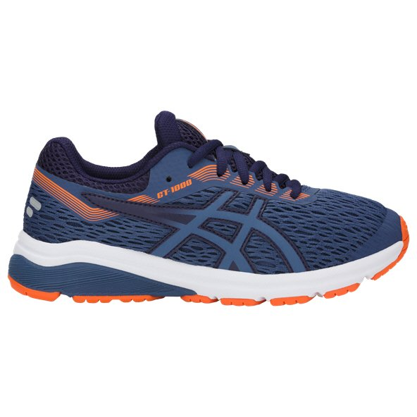 Asics GT-1000 7 Boys' Running Shoe, Grey