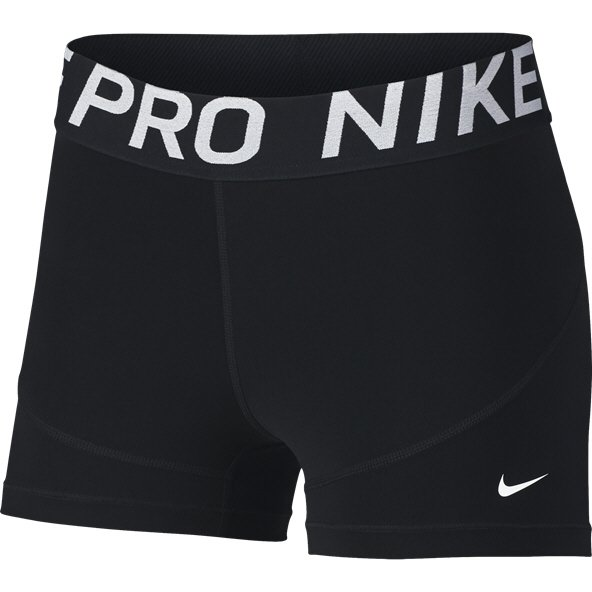 Nike New 3inch Wmn Shorts Black/White