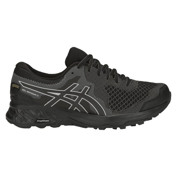 Asics Gel-Sonoma 4 G-TX Women's Running Shoe, Black
