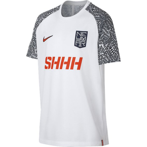 Nike Dri-FIT Neymar Jr. Boys' T-Shirt, White