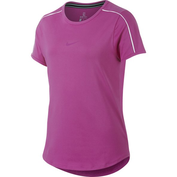 Nike Dry Tennis Girls' T-Shirt, Pink