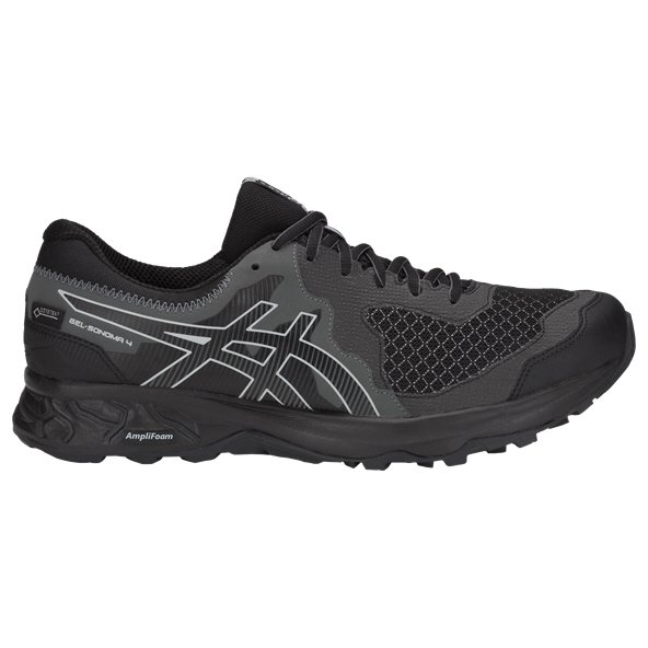 Asics Gel-Sonoma 4 G-TX Men's Running Shoe, Black