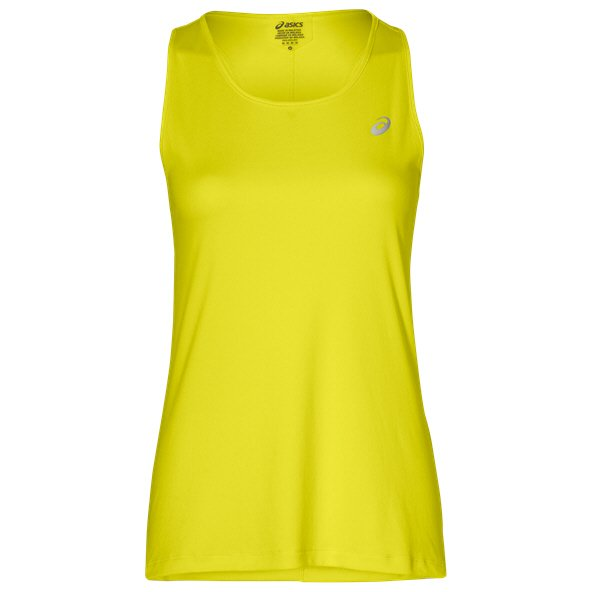 Asics Silver Women' Running Tank Top, Yellow