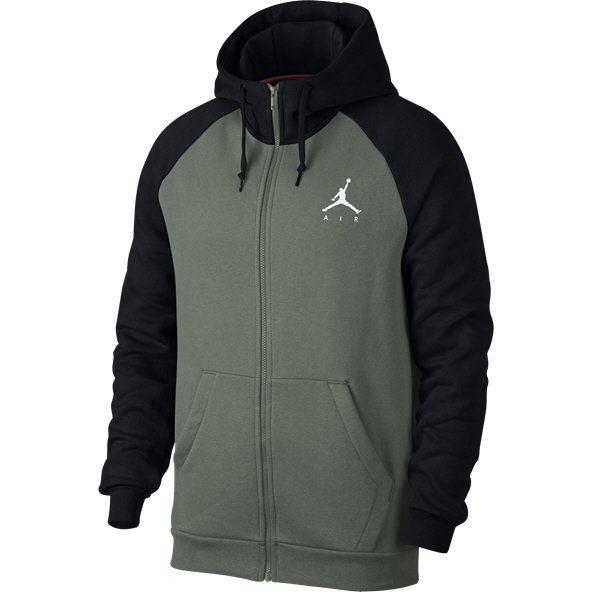 Nike Jordan Jumpman Men's Full Zip Hoody Lichen