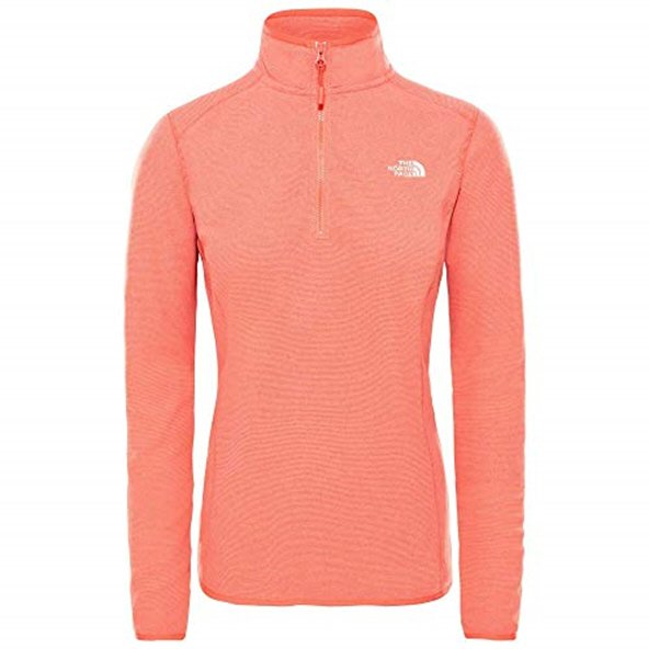 The North Face Glacier ¼ Zip Women's Jacket, Red