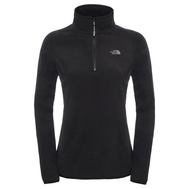 The North Face Glacier ¼ Zip Women's Jacket, Black