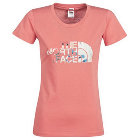 The NorthFace Easy Tee Wmns Coral