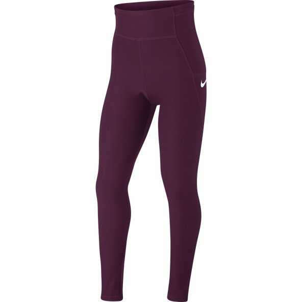 Nike Legend Girls Training Tights Bordeaux/White