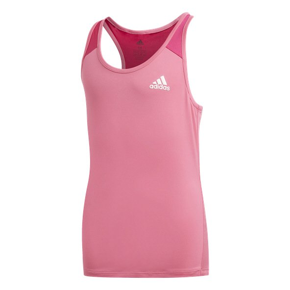 adidas Breathe Girls Tank Pink/Magenta