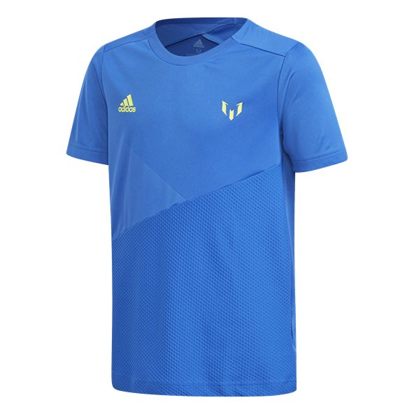 adidas Icon Messi Boys' T-Shirt, Blue