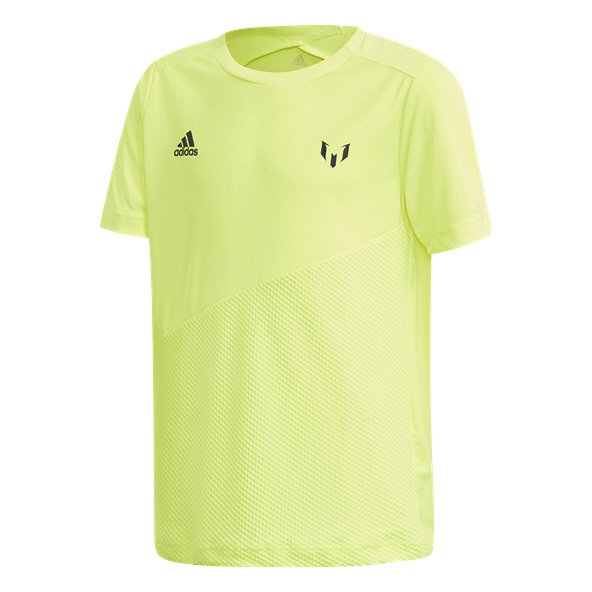 adidas Icon Messi Boys' T-Shirt, Yellow