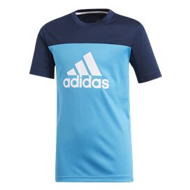 adidas Equipment Training Boys' T-Shirt Cyan/Navy